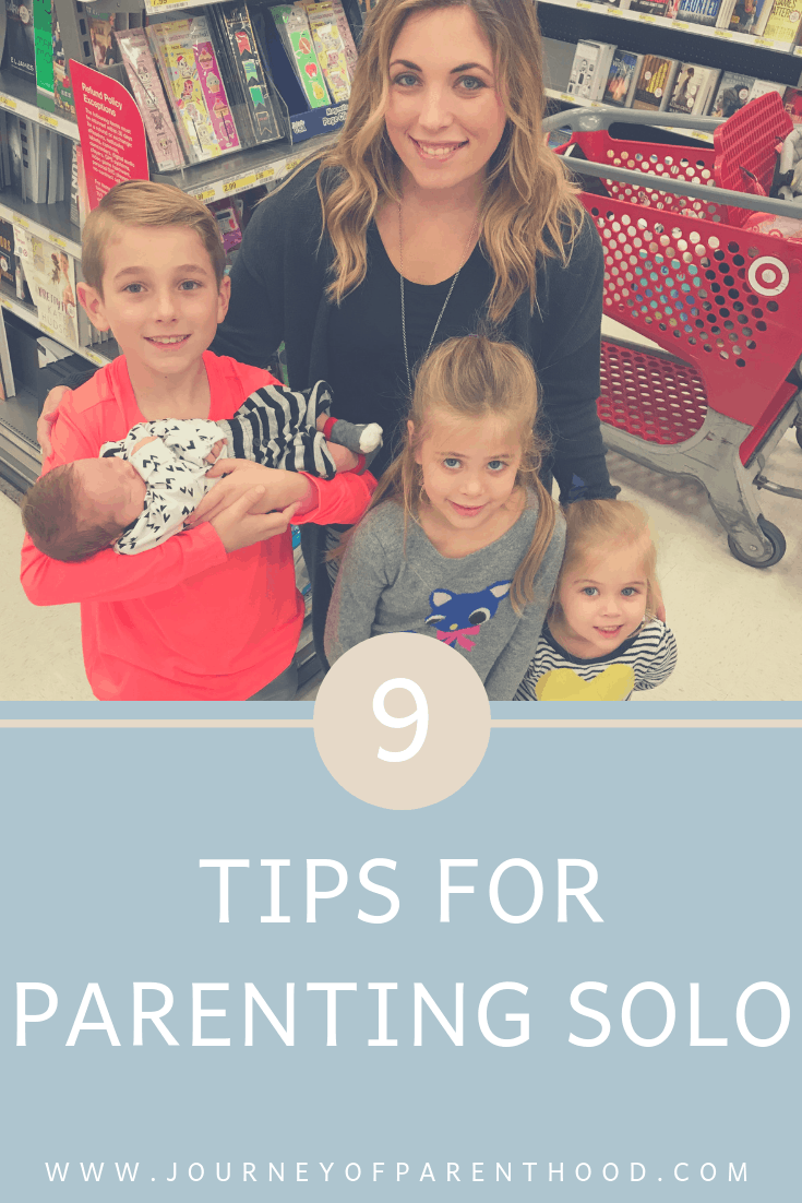 9 tips for parenting solo