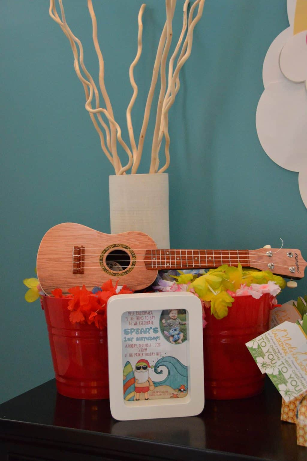 hawaiian christmas decorations lilo and stitch first birthday party