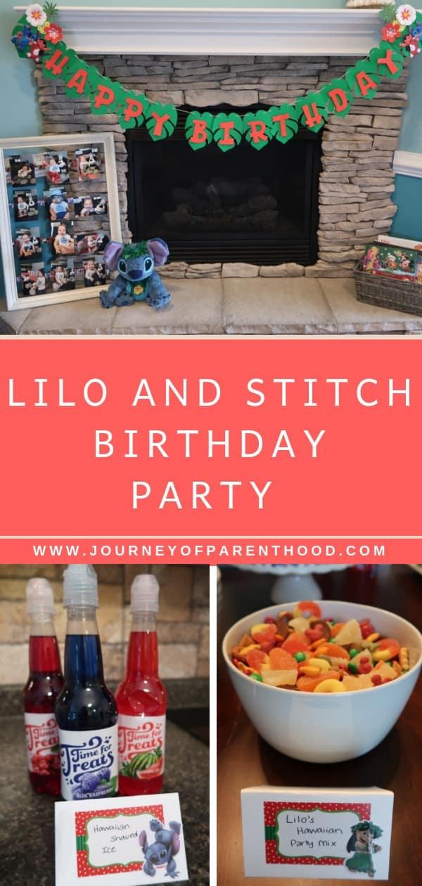 lilo and stitch birthday party