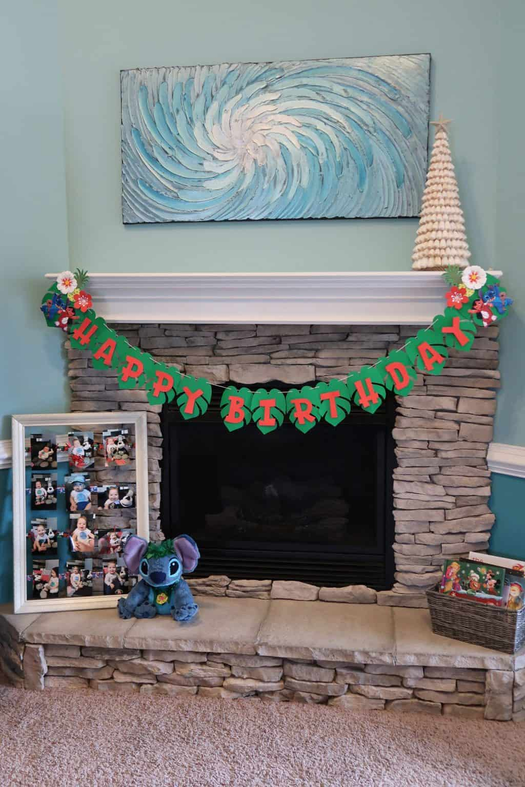 hawaiian christmas decorations lilo and stitch party