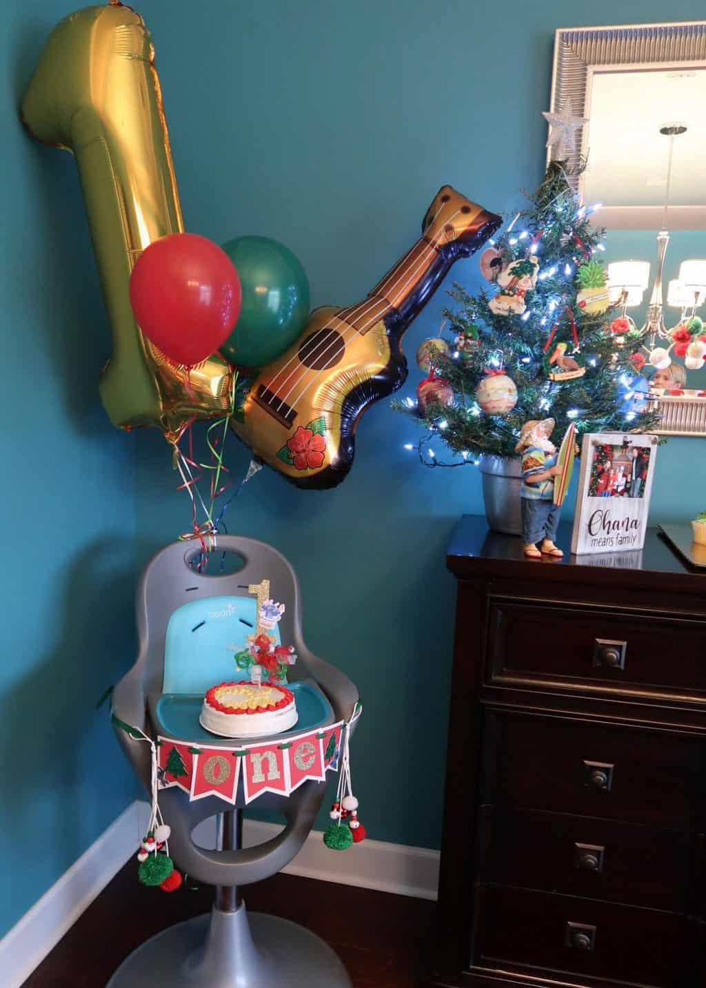 hawaiian christmas decorations lilo and stitch first birthday