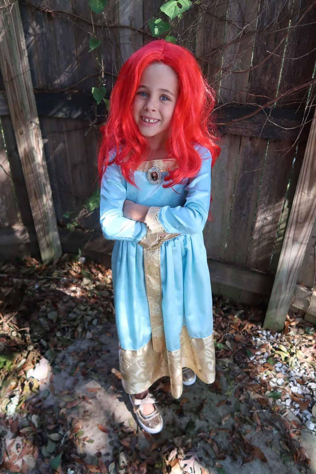 brave family costumes princess merida