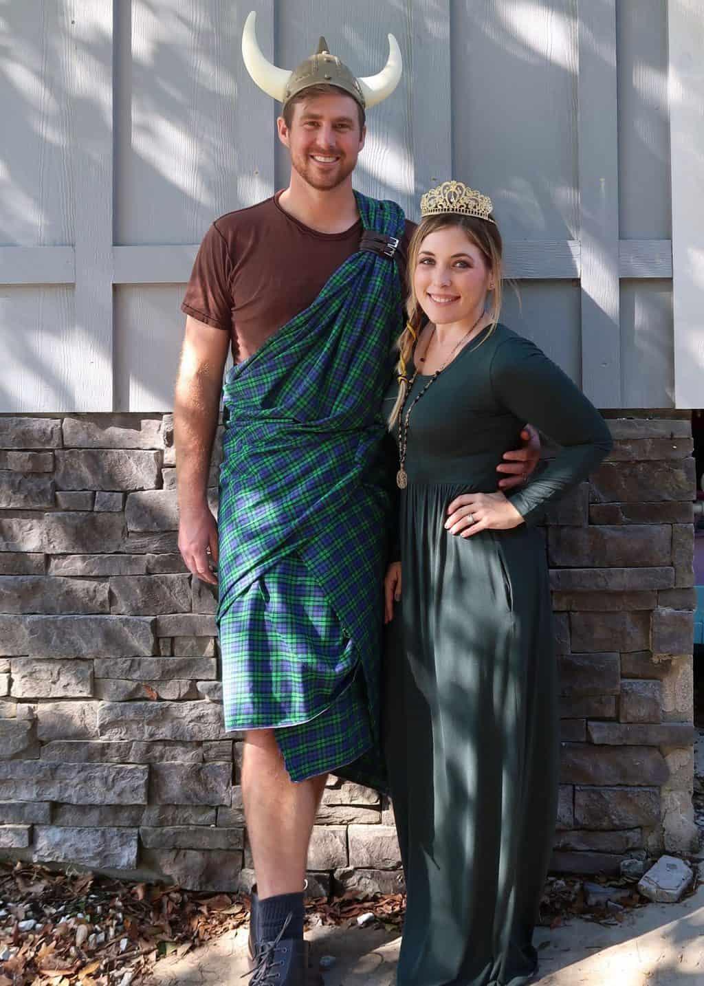 brave family costumes king fergus queen elenor