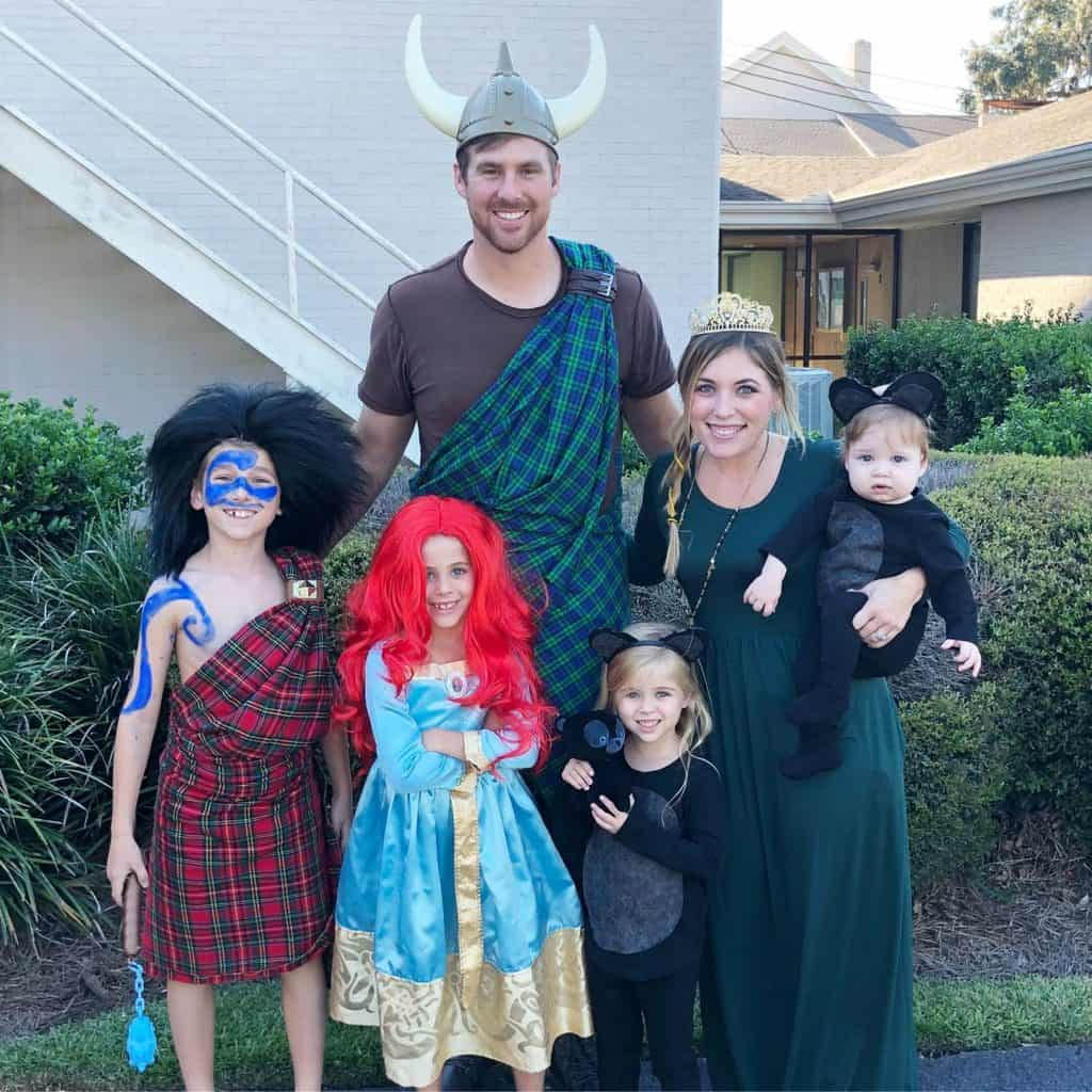 Brave Halloween Family Costumes
