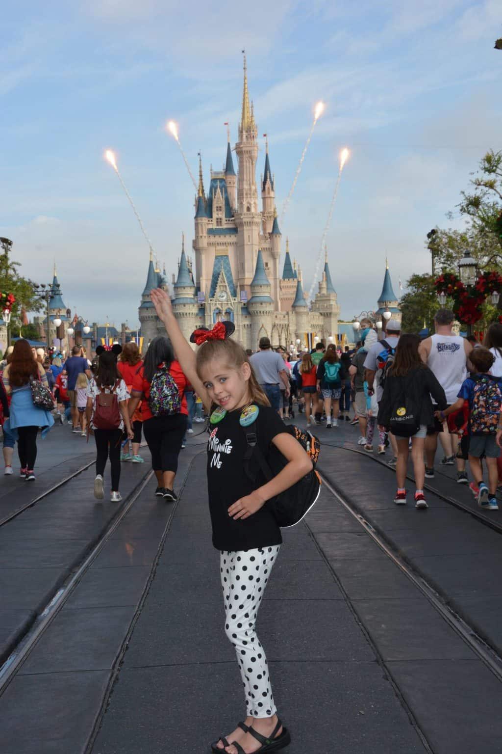 Britt's 7th Bday Disney Trip: Solo Park Days