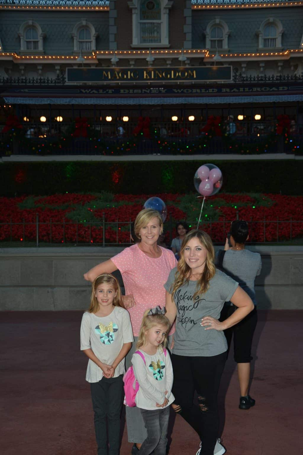 Britt's 7th Disney Bday: Girl's Night at MK