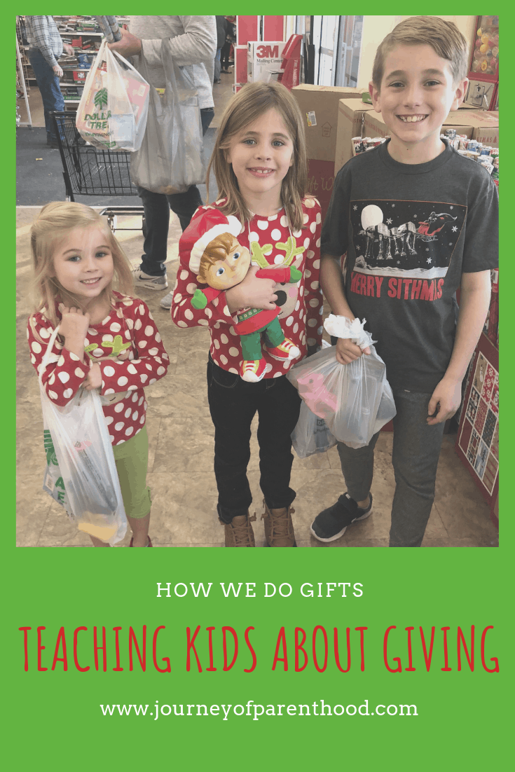 Teaching Kids About Giving: How We Do Gifts