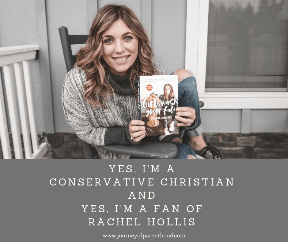 conservative christian loves Rachel Hollis