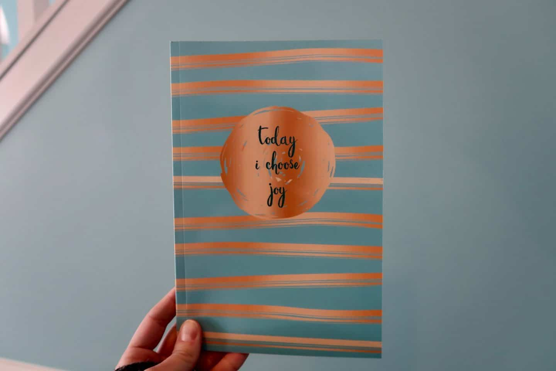 today I chose joy journal