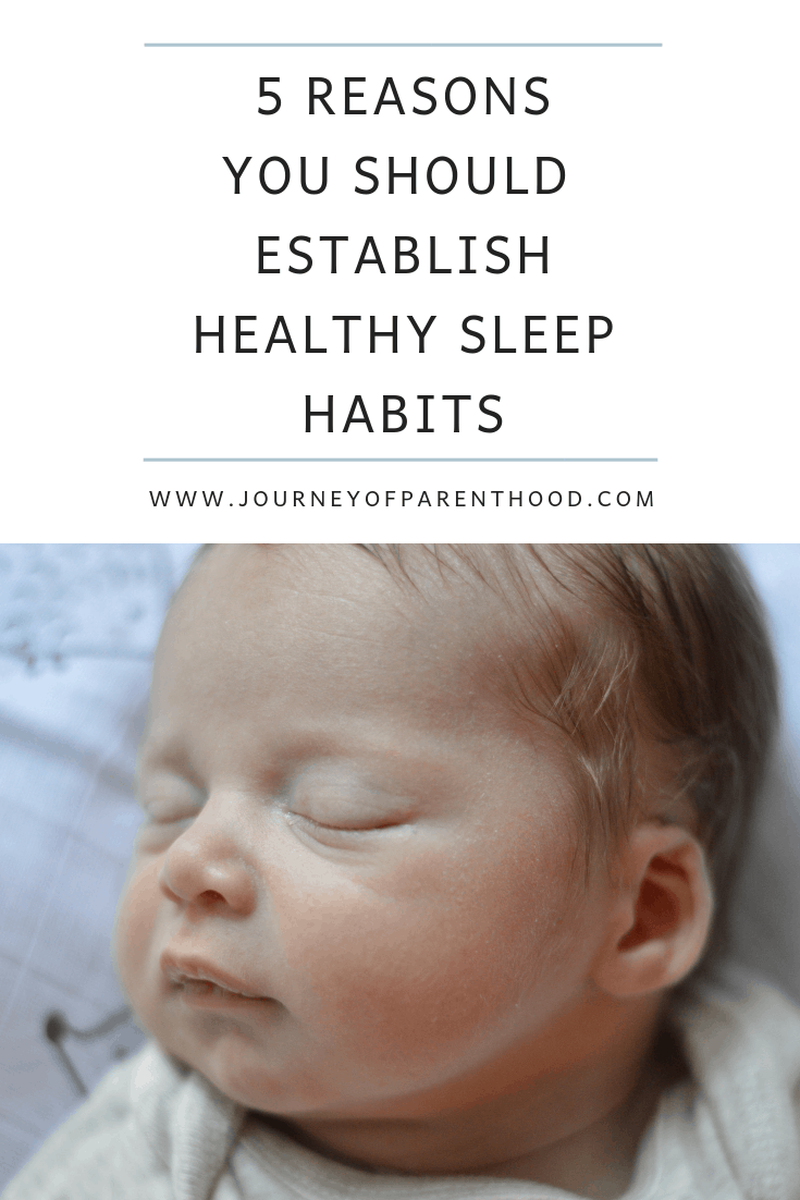 5 reasons you should establish healthy sleep habits
