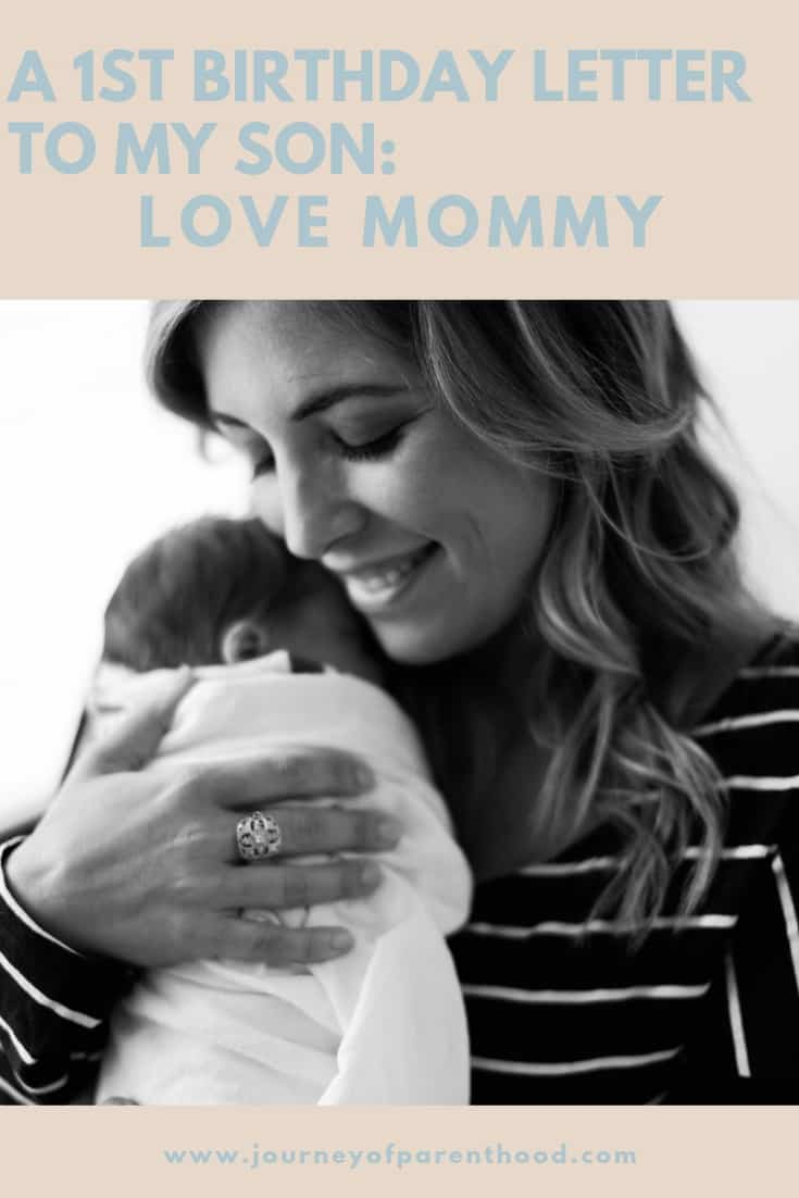 Spear's 1st Birthday Letter {From Mommy} - The Journey of