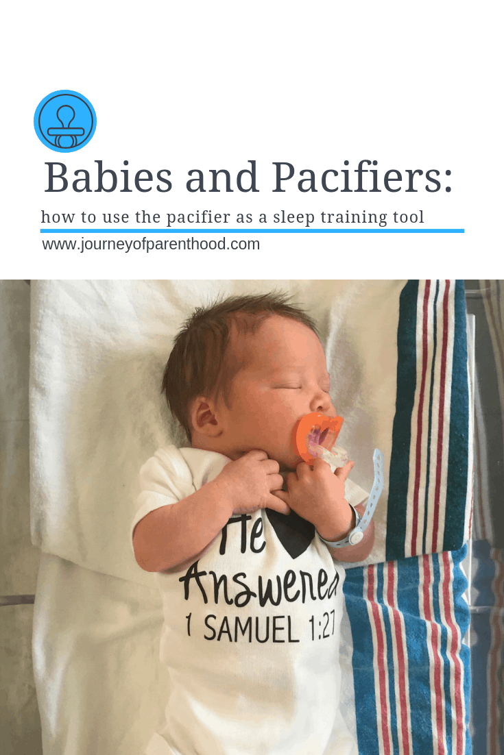 Using a Pacifier as a Sleep Tool (Not Prop!)
