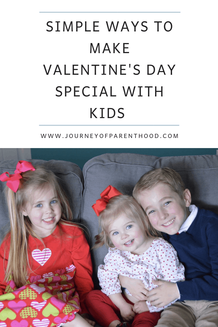 simple ways to make Valentine's Day special with kids