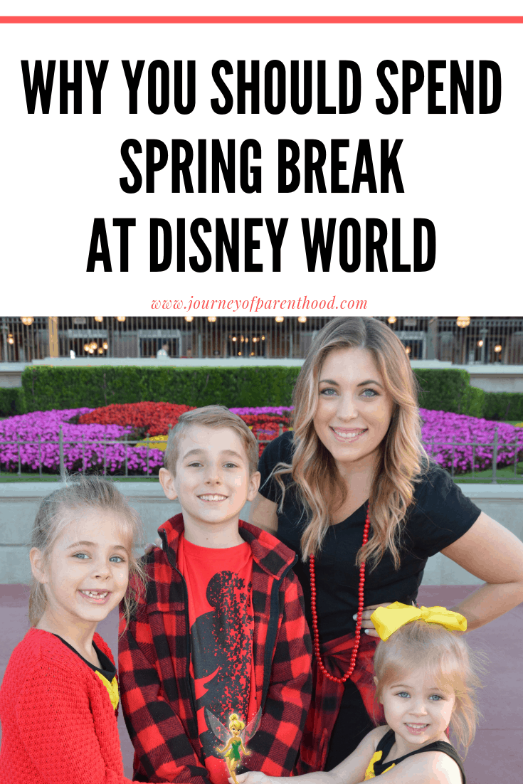Spring Break at Disney World: The Best School Break For Disney Vacation