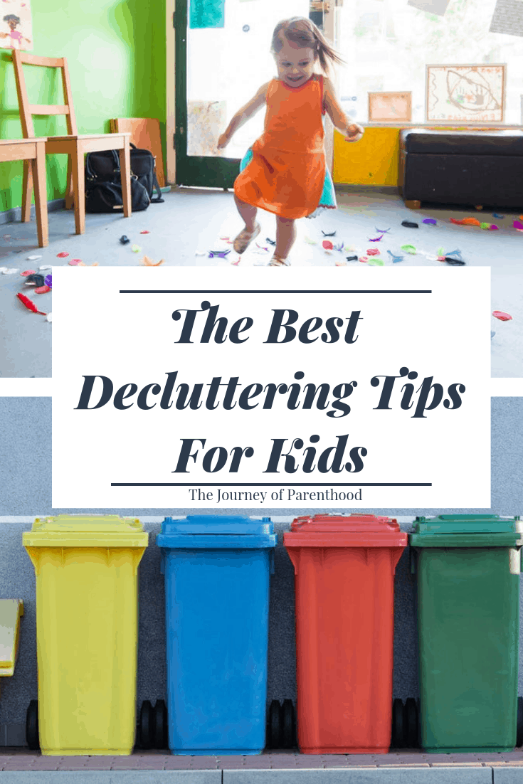 best decluttering tips for kids: teaching your kids how to declutter