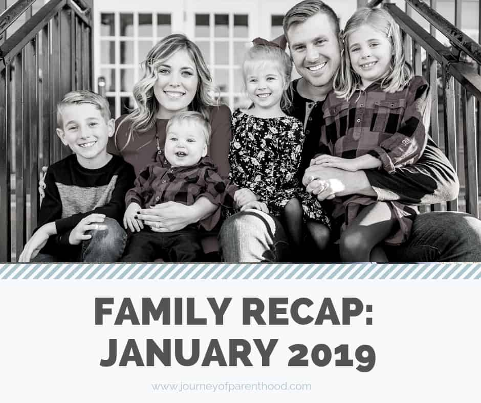 Family Recap: January 2019