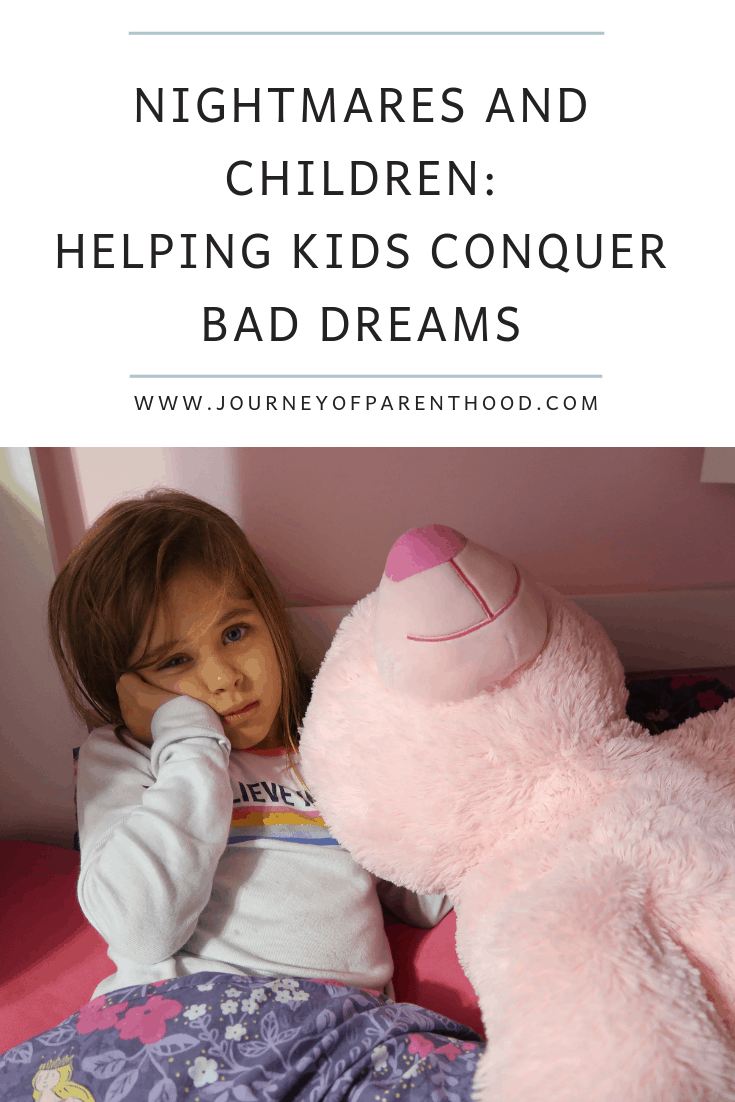 nightmares and children: helping kids to conquer their bad dreams