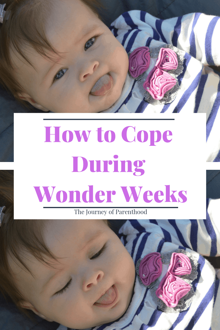 pinterest image: how to cope during wonder weeks