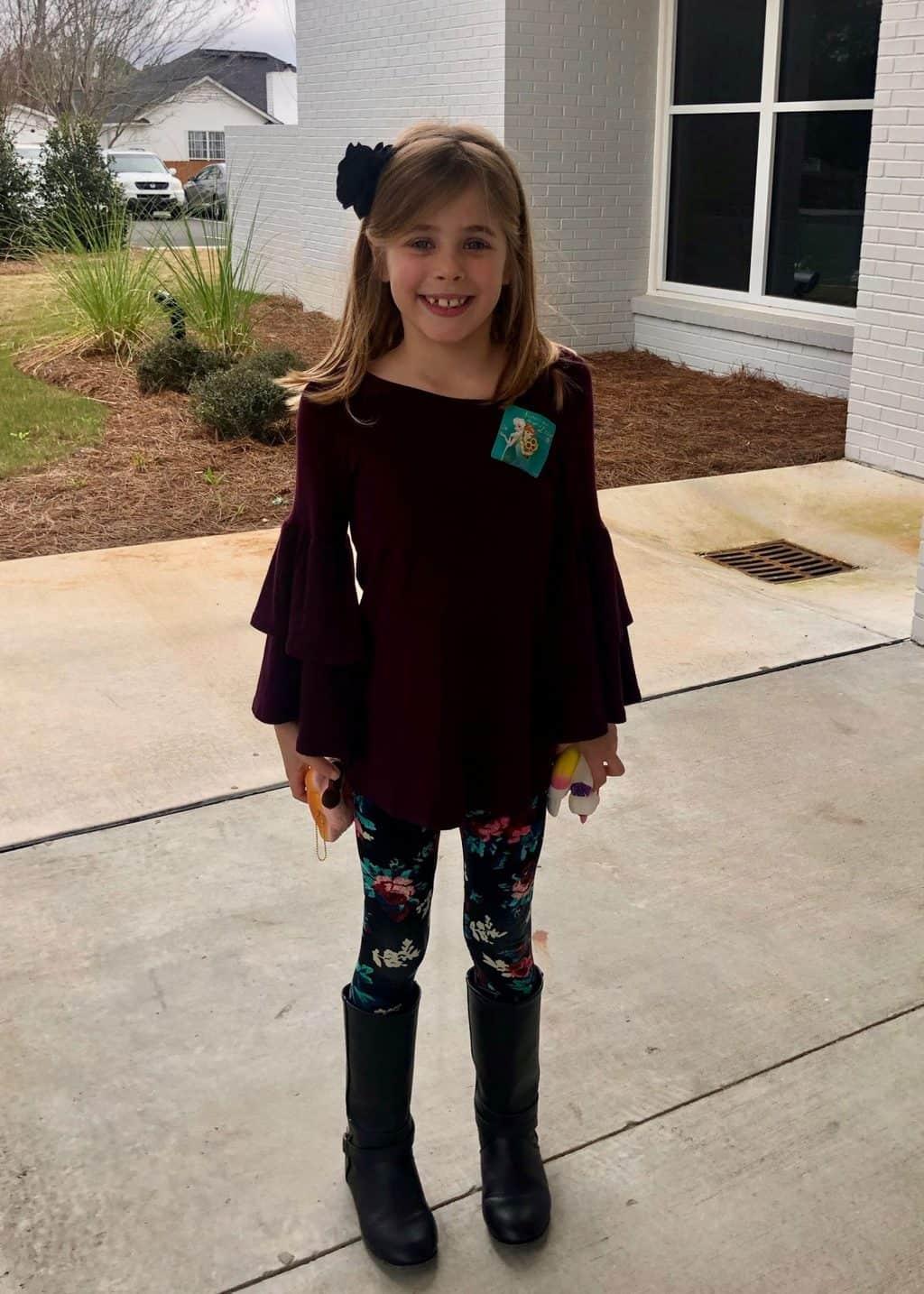 Britt's 7 Year Pediatrician Well Visit