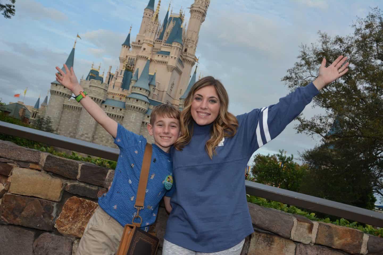 Celebrating Kye's 10th Birthday at Disney