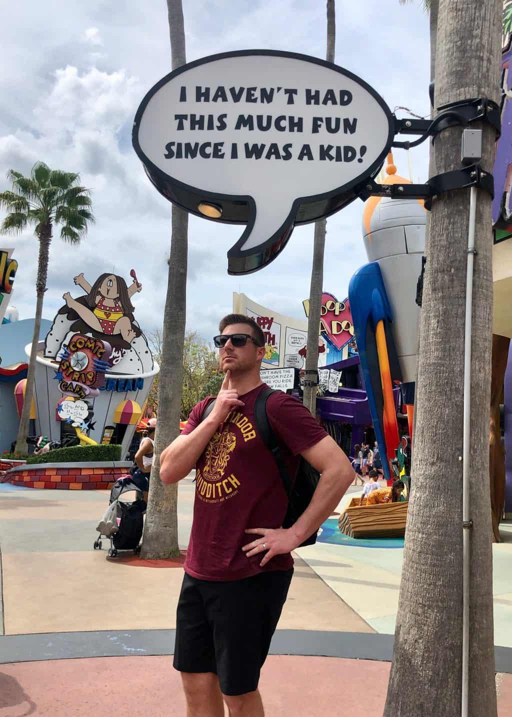Universal Orlando resort islands of adventure