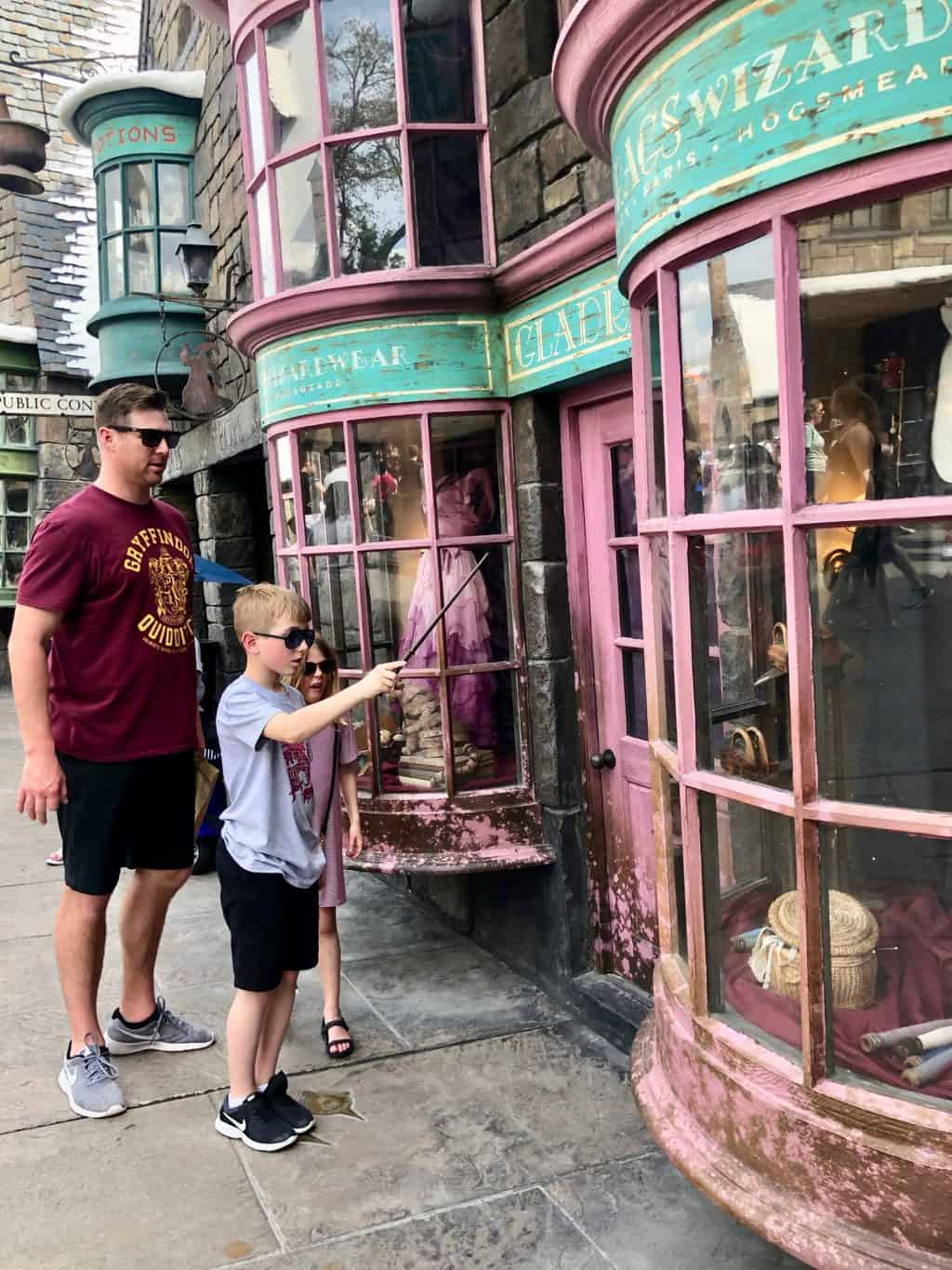 interactive wand wizarding world of Harry Potter