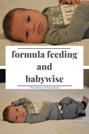 Can I Do Babywise and Formula Feed