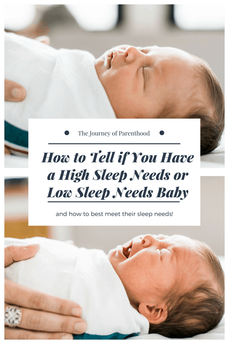 pinterest image high low sleep needs