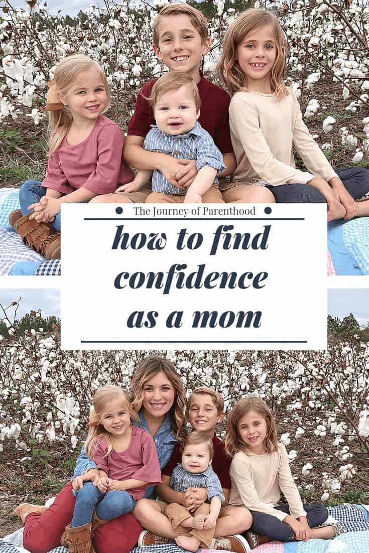 how to find confidence as a mom