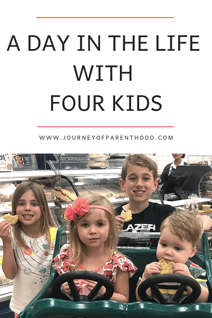 A day in the life with four kids