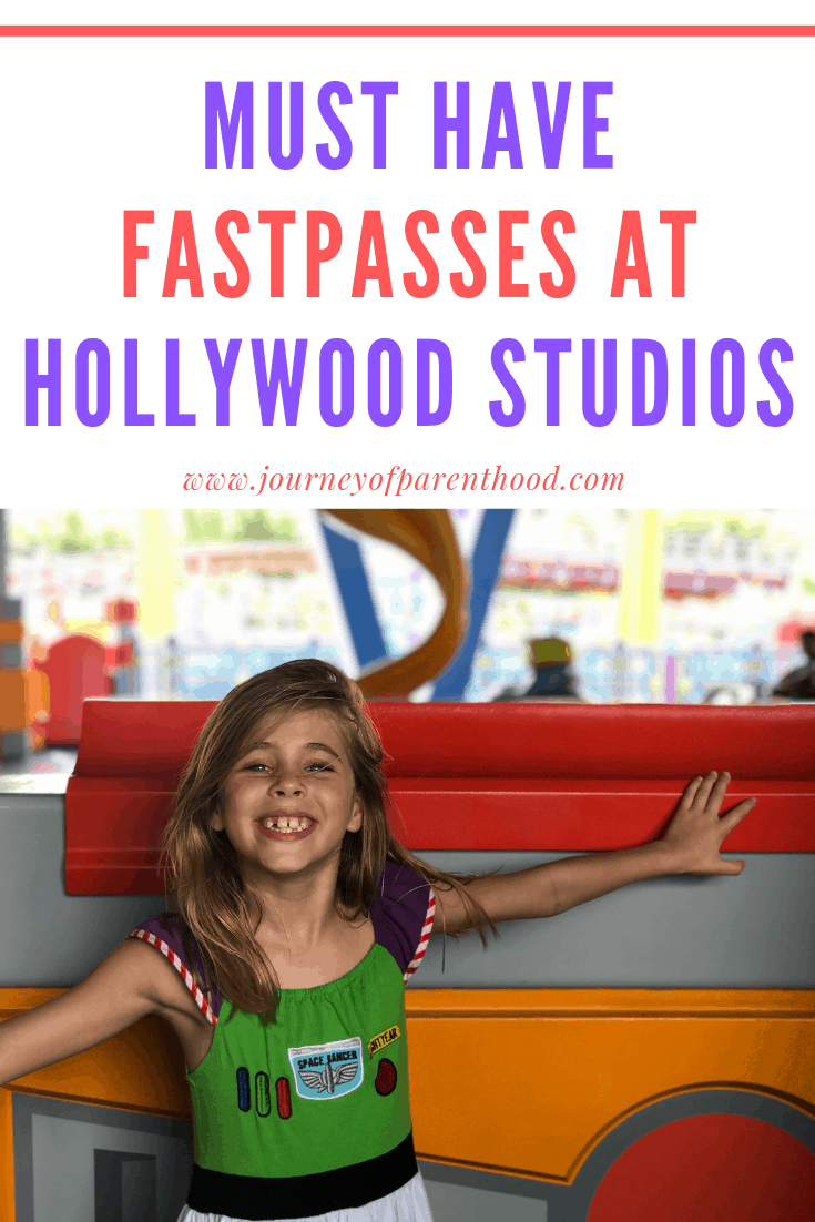 pinable image: must have fast passes at Hollywood Studios