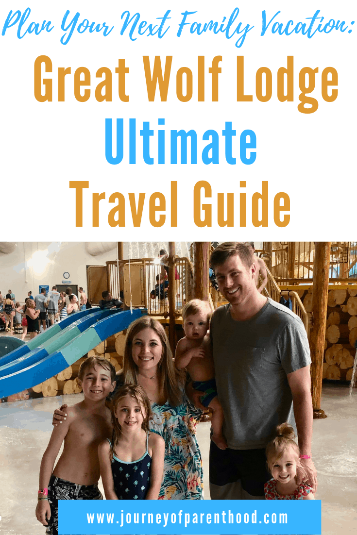 pinable image: great wolf lodge travel guide