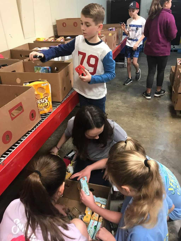 kye volunteer work