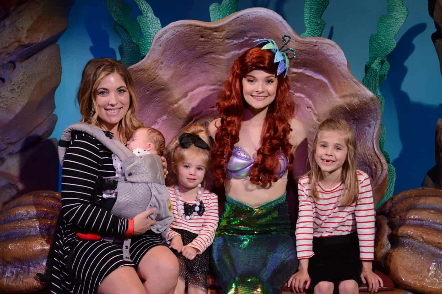 Ariel at grotto