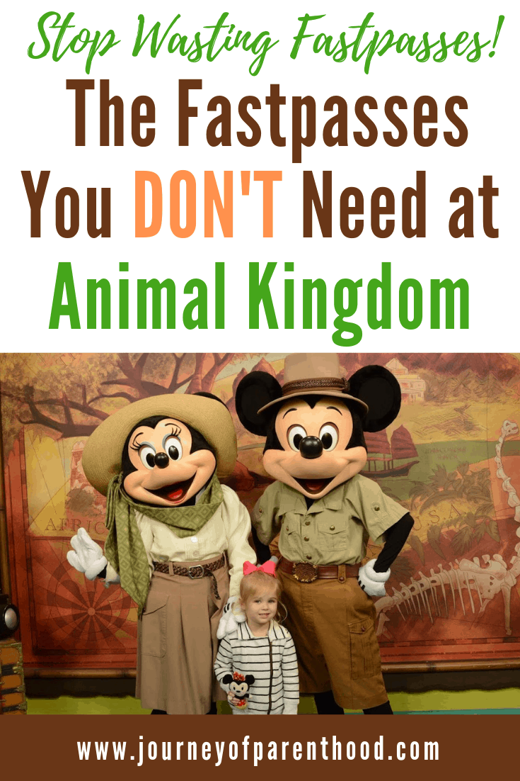 pinable image: the fastpasses you don't need at animal kingdom