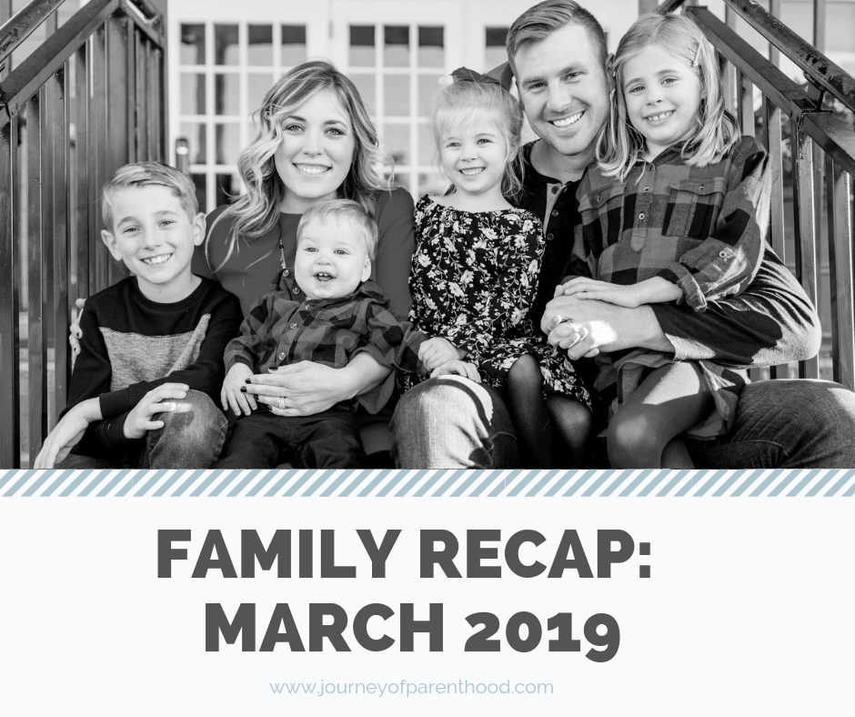 family recap march 2019