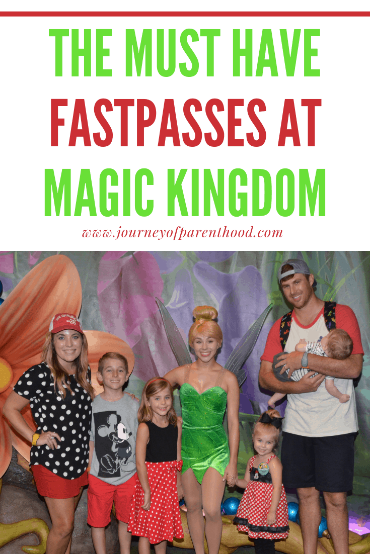 the must have fastpasses at magic kingdom