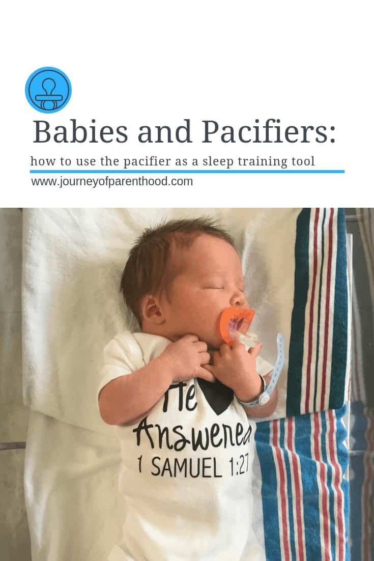 pacifiers and babies: how to use the pacifier as a sleep training tool