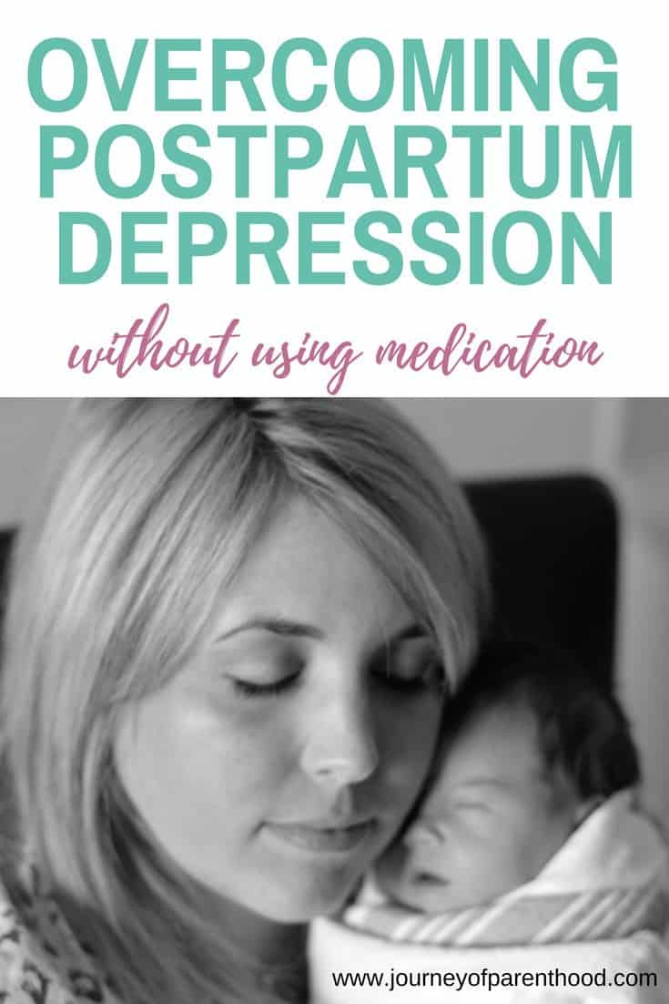 overcoming postpartum depression without using medication