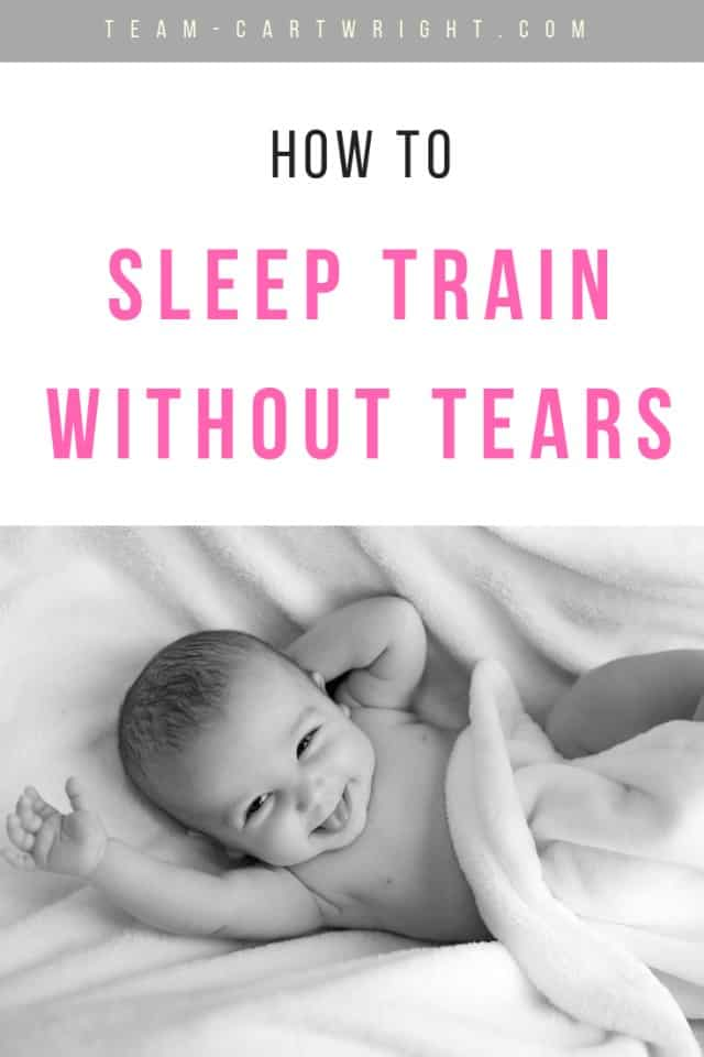 sleep train without tears from Team Cartwright