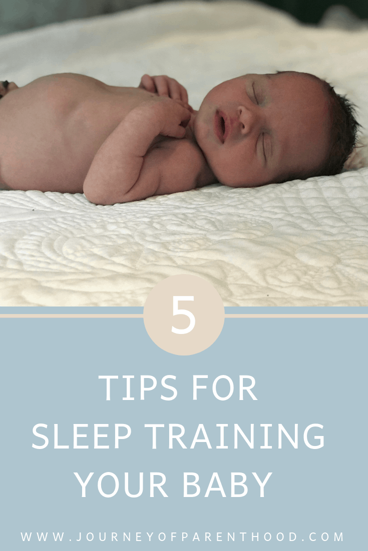 5 tips for sleep training