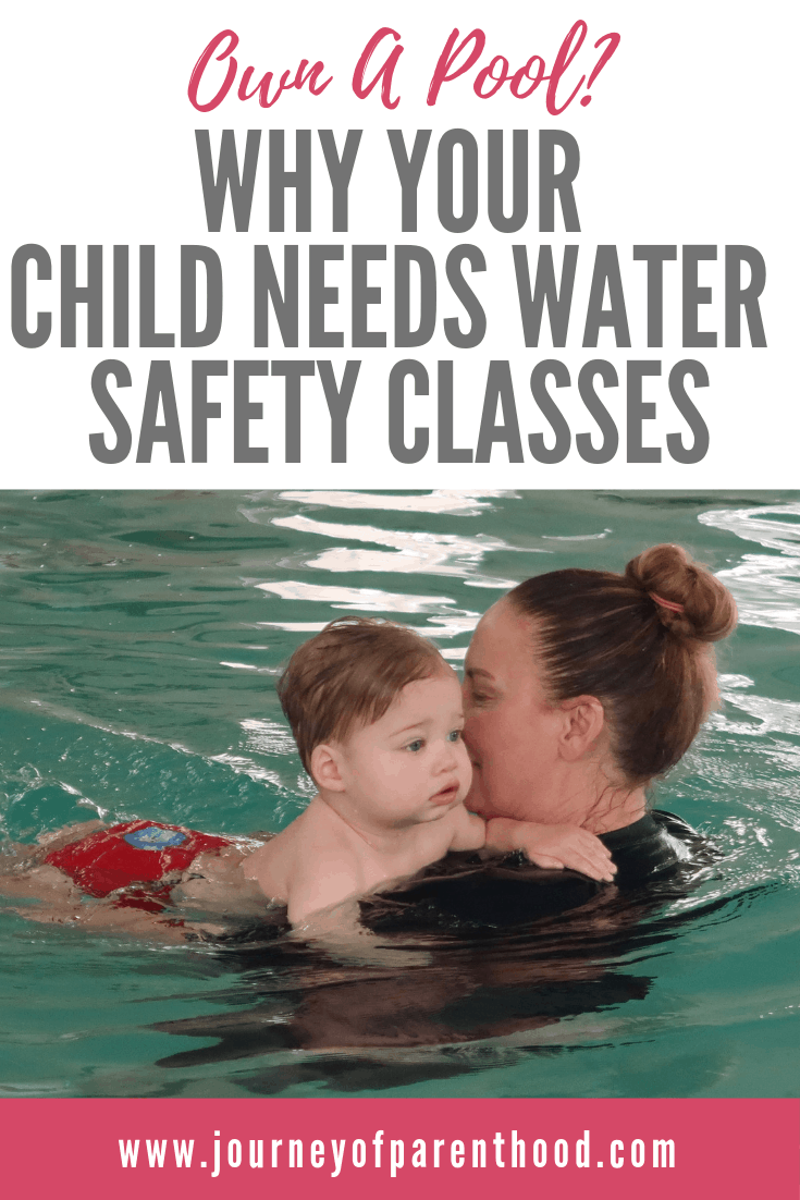 survival swim lessons - water safety in the pool