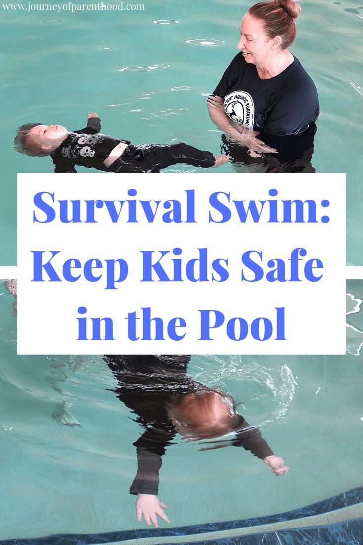 survival swim: keep kids safe in the pool