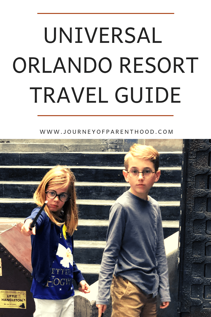 Universal Orlando resort travel guide