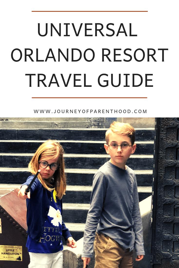 Universal Orlando resort travel guide