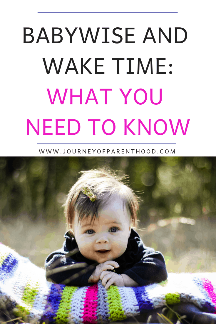 pinterest image babywise and wake time what you need to know