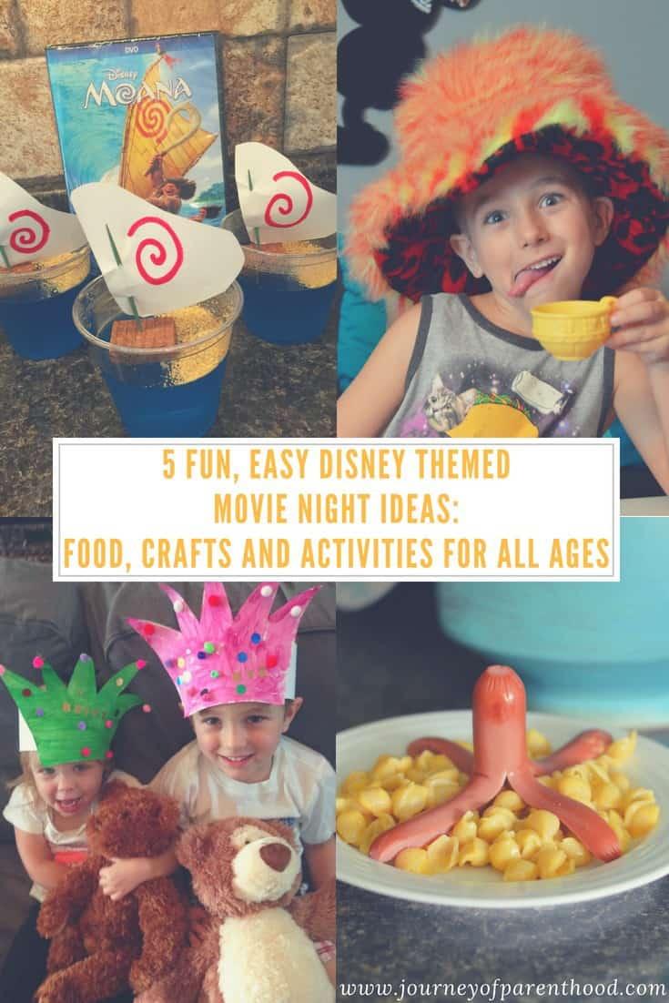 pinable image: 5 disney movie themes