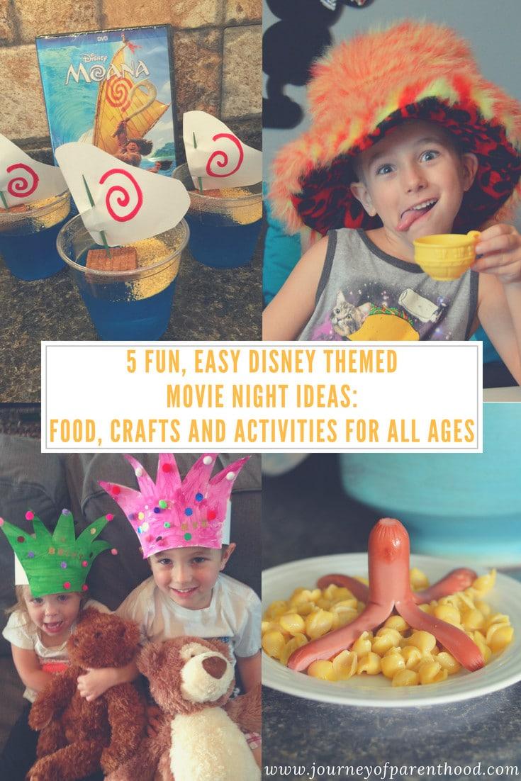 Disney movie theme ideas