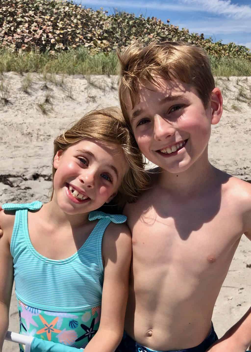 kye and britt beach