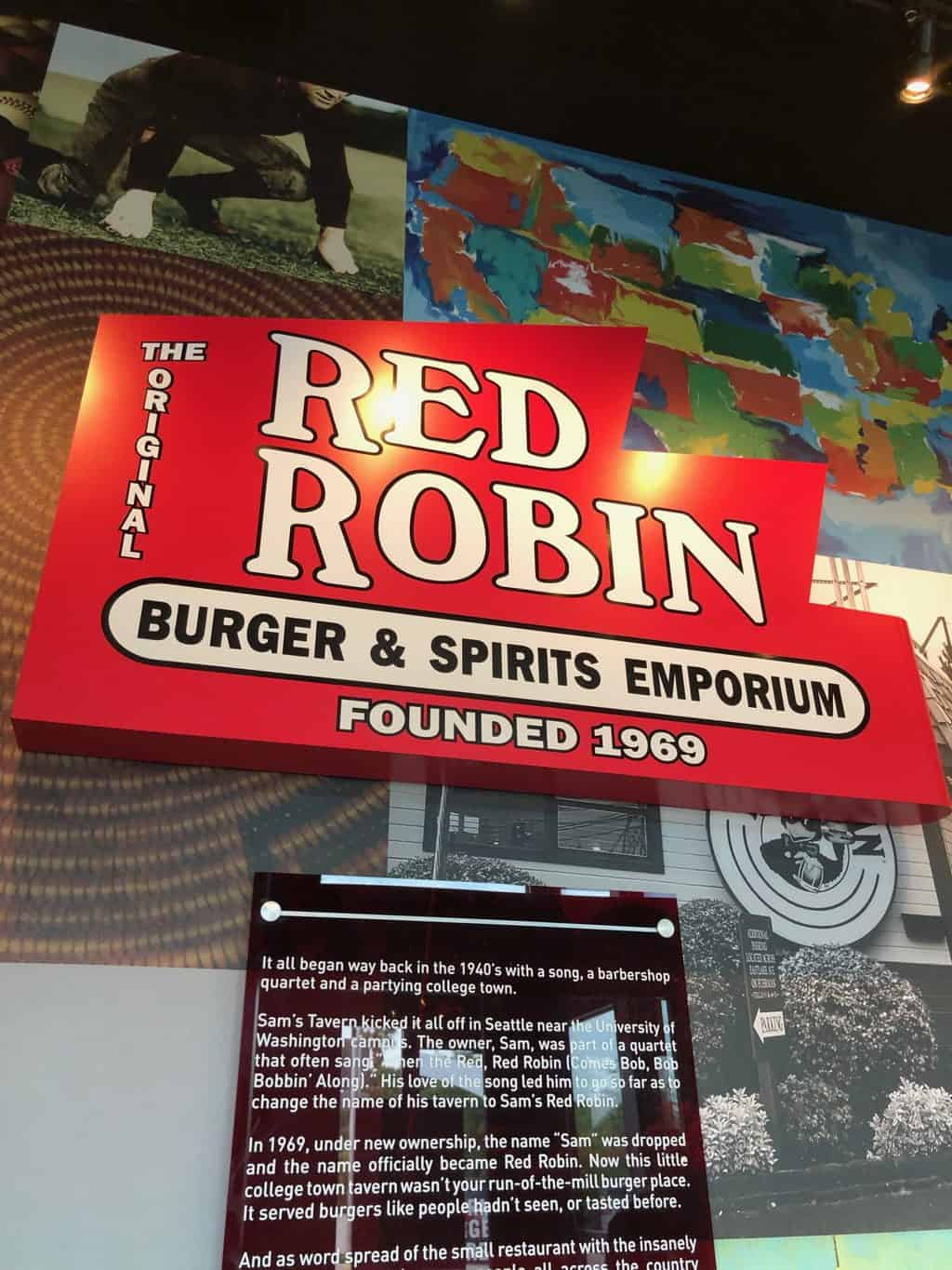 Red Robin dinner